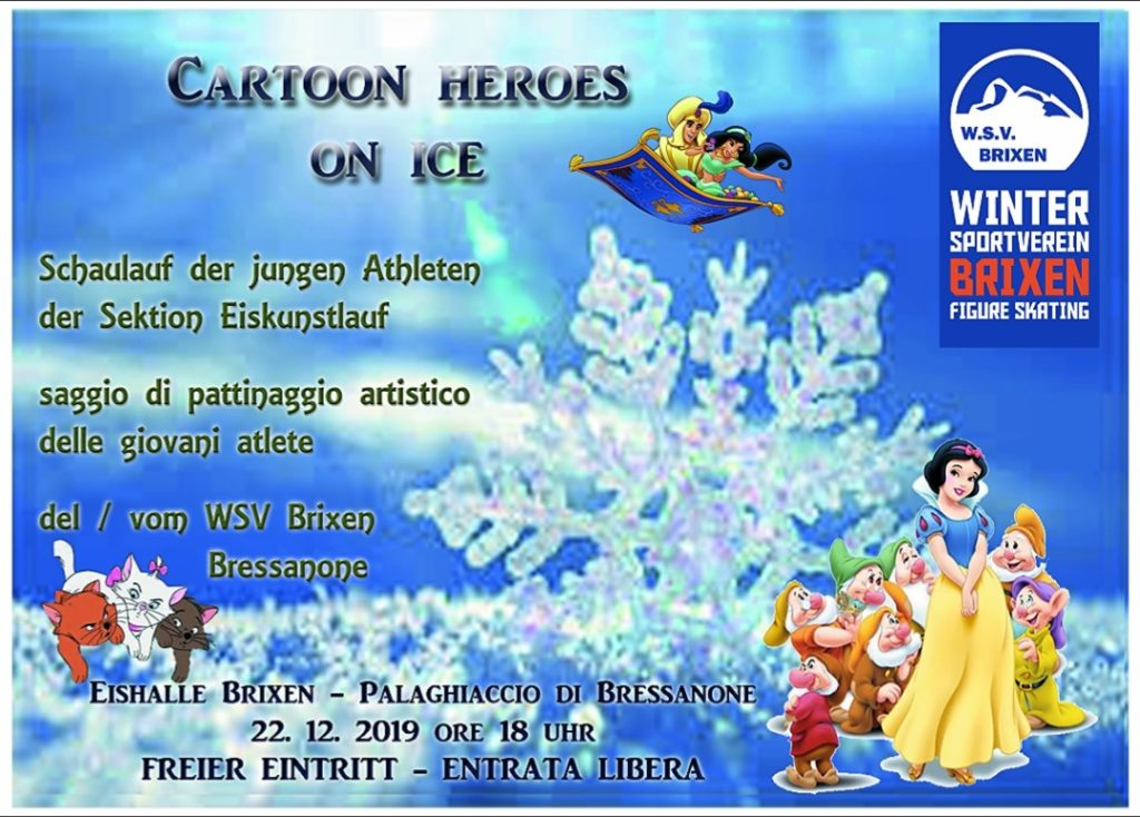 Cartoon Heroes on ice